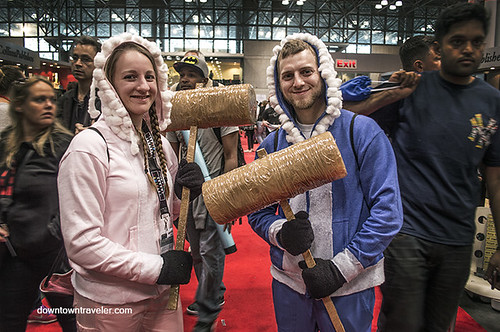 NY Comic Con 2014 Ice Climbers Super Smash Bros | by Downtown Traveler