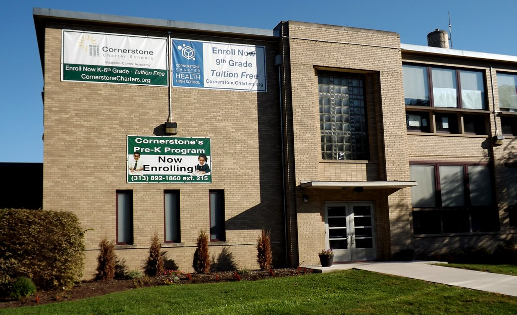 ... Former Alex Dow Intermediate School (Now Cornerstone Health + Technology High School): South
