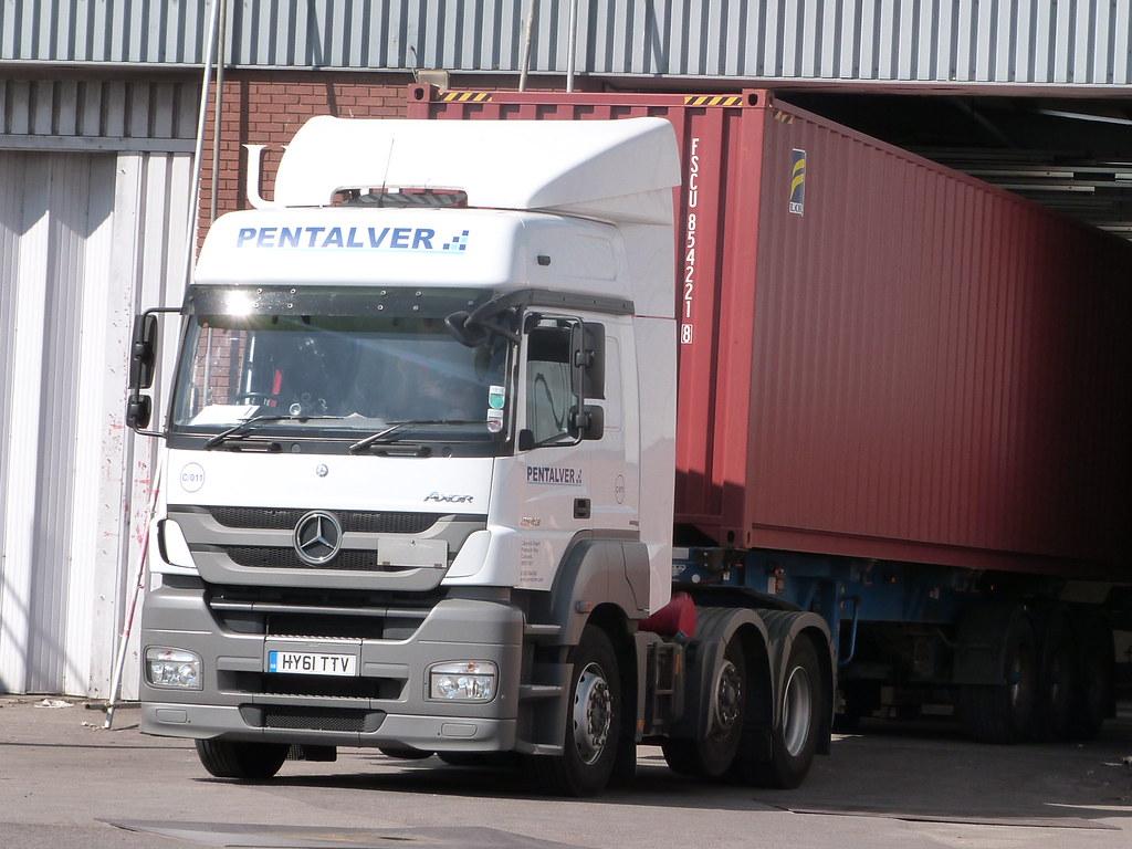 ... PENTALVER TRANSPORT - Mercedes-Benz Axor 2543 6x2 - (011) HY61 TTV |