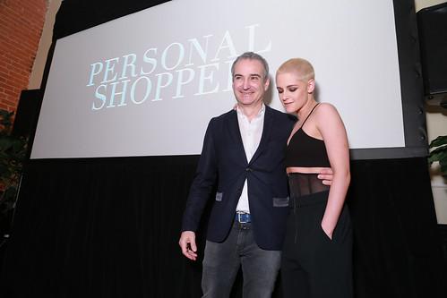 Writer-Director Olivier Assayas and Kristen Stewart at Personal Shopper, LA Premiere