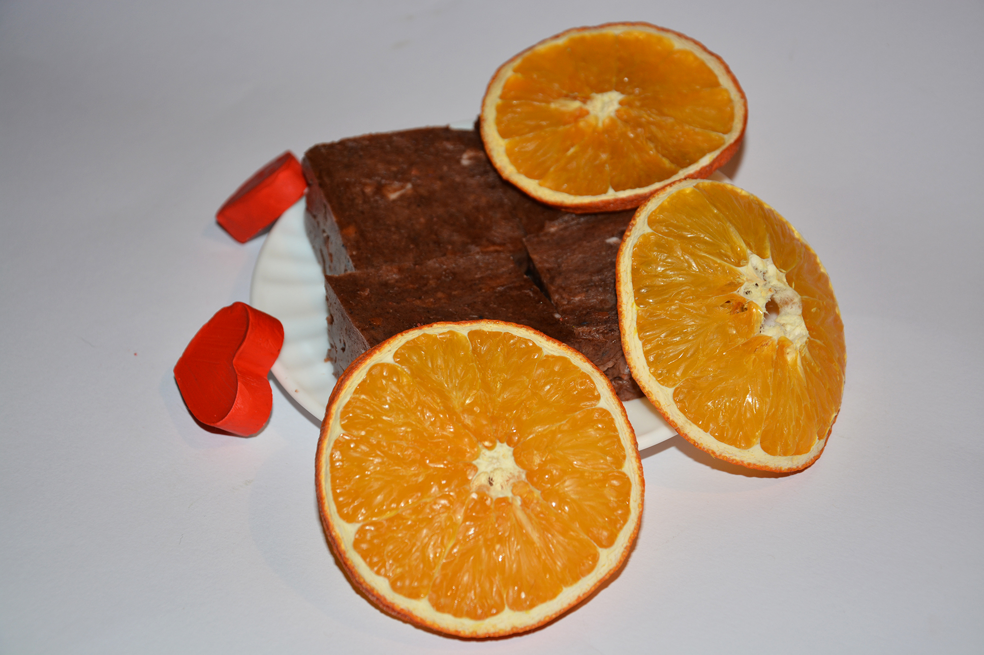 Cinnamon spiced soap with orange