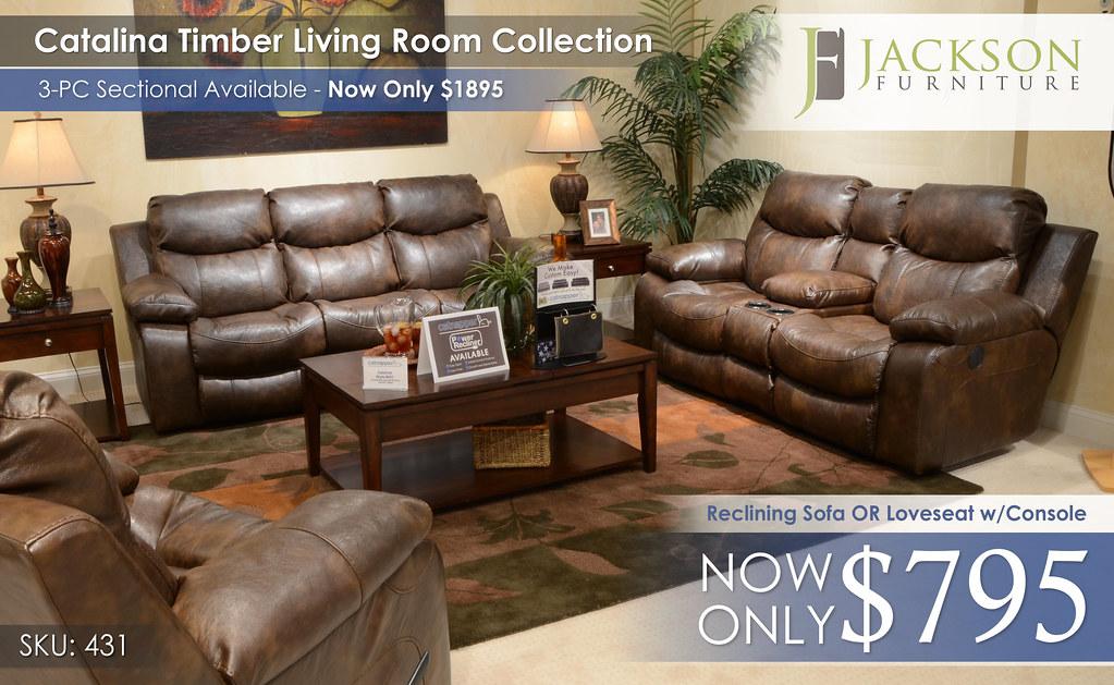 Catalina Timber 431 Living Room