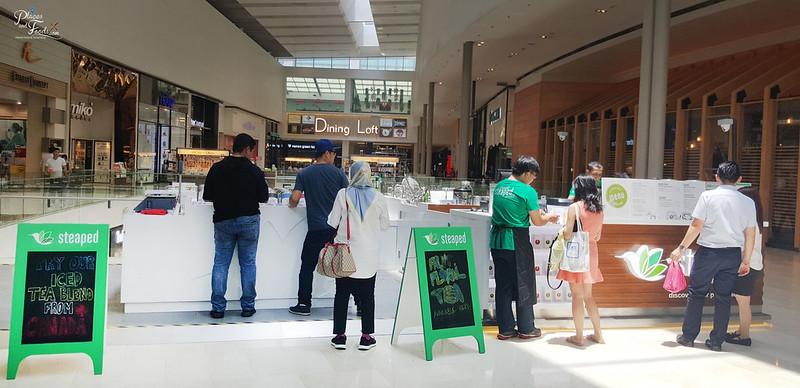 steaped tea malaysia pavilion
