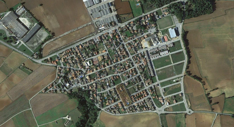 melianta, girona, malig, después, urbanismo, planeamiento, urbano, desastre, urbanístico, construcción, rotondas, carretera