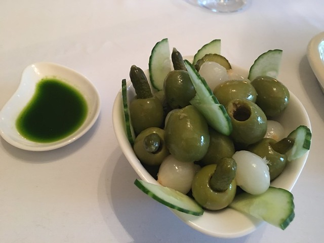 Michelin Star 024  green olives