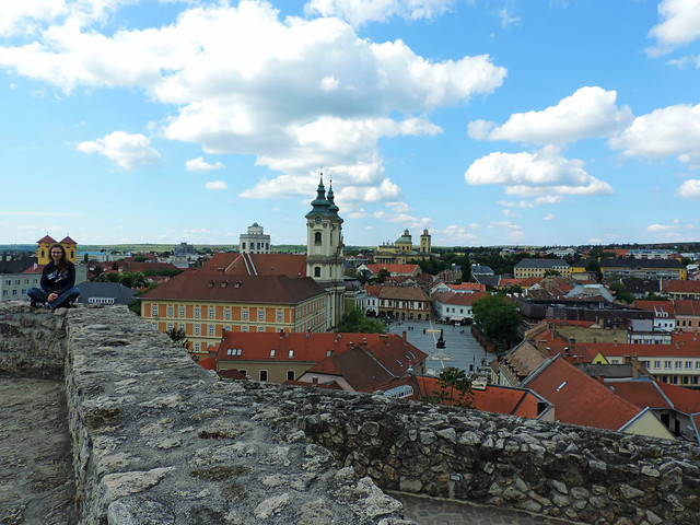 View from the castle of Eger, Hungary