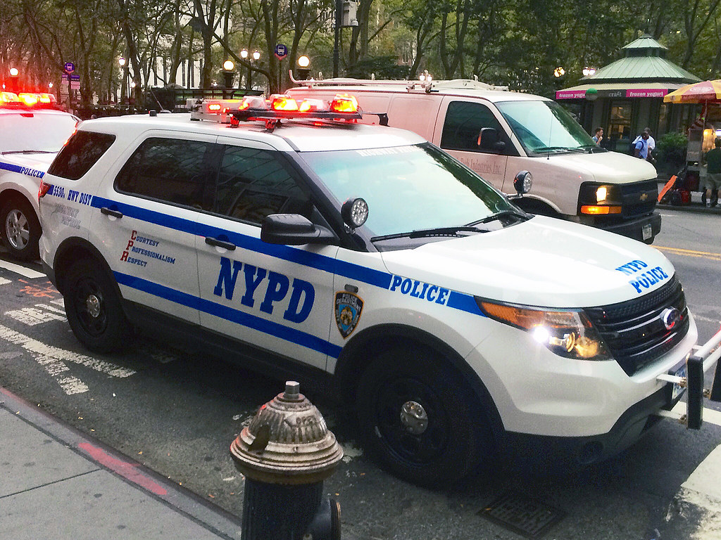 picture of nypd 2014 ford police interceptor utility car 5530 14 belonging to the