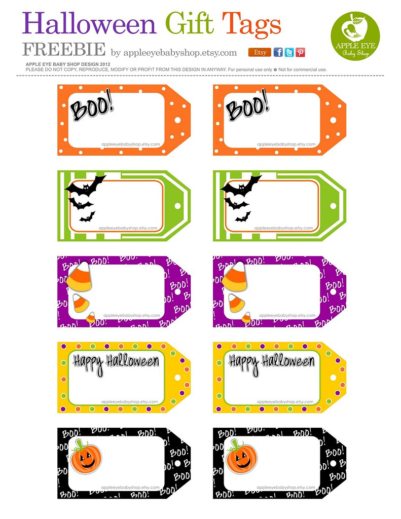 Free printable halloween gift tags by apple eye baby sho flickr free printable halloween gift tags by apple eye baby shop by apple eye baby negle Gallery