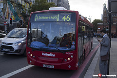 Alexander Dennis Enviro200 - LK09 EOA - DE999 - Metroline - King's Cross London - 140926 - Steven Gray - IMG_0370