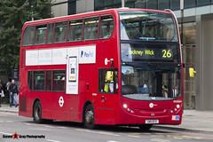 Alexander Dennis Trident Enviro 400 - SN11 BTO - DN33654 - Tower Transit - London - 140926 - Steven Gray - IMG_0199