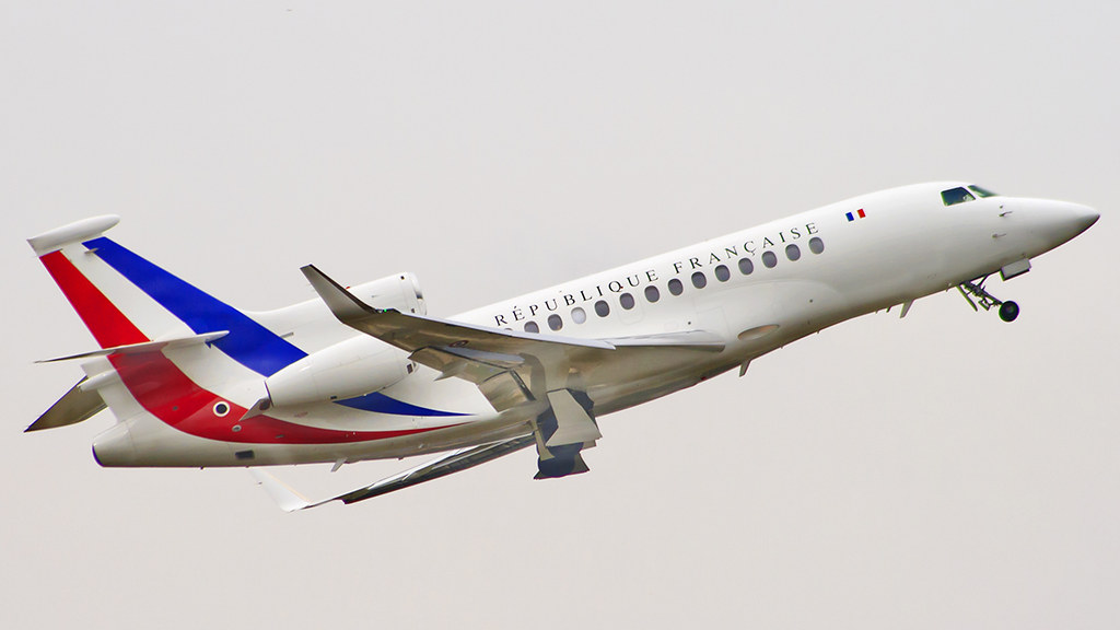 republique francaise france air force dassault falcon 7x flickr