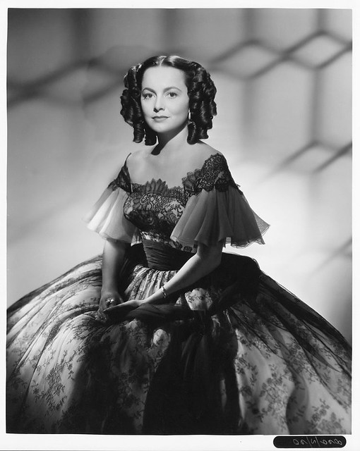 My Cousin Rachel - 1952 - Promo Photo - Olivia de Havilland