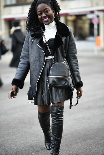Lois-opoku-berlin-fashion-week-shearling-aviator-coat-lisforlois | by Lois Opoku