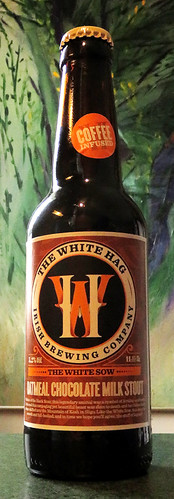 White Hag Coffee-Infused Stout, an curious beer from Ireland