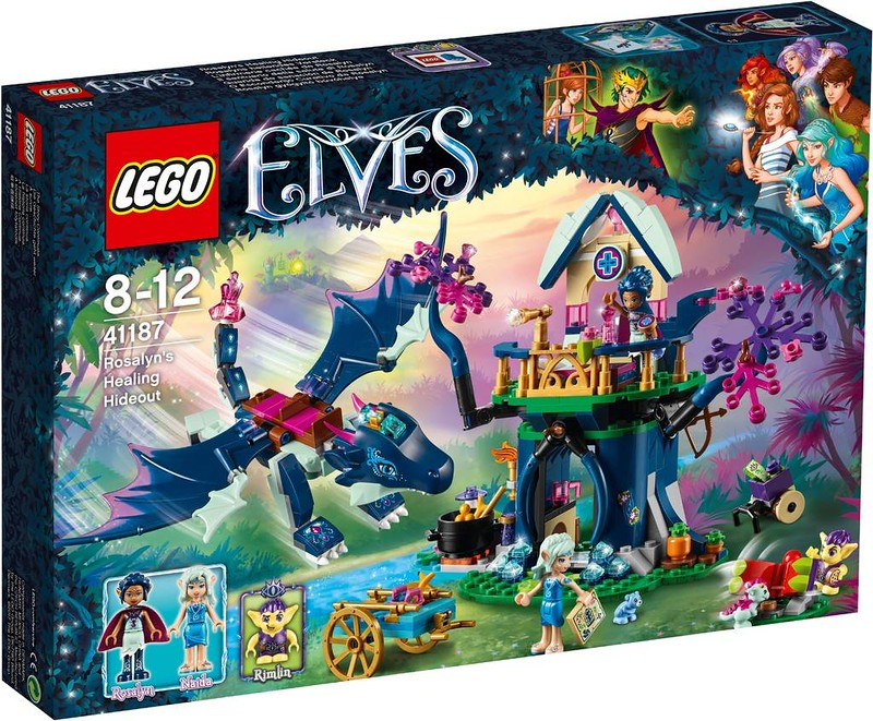 LEGO Elves Estate 2017 - Rosalyn's Healing Hideout (41187)