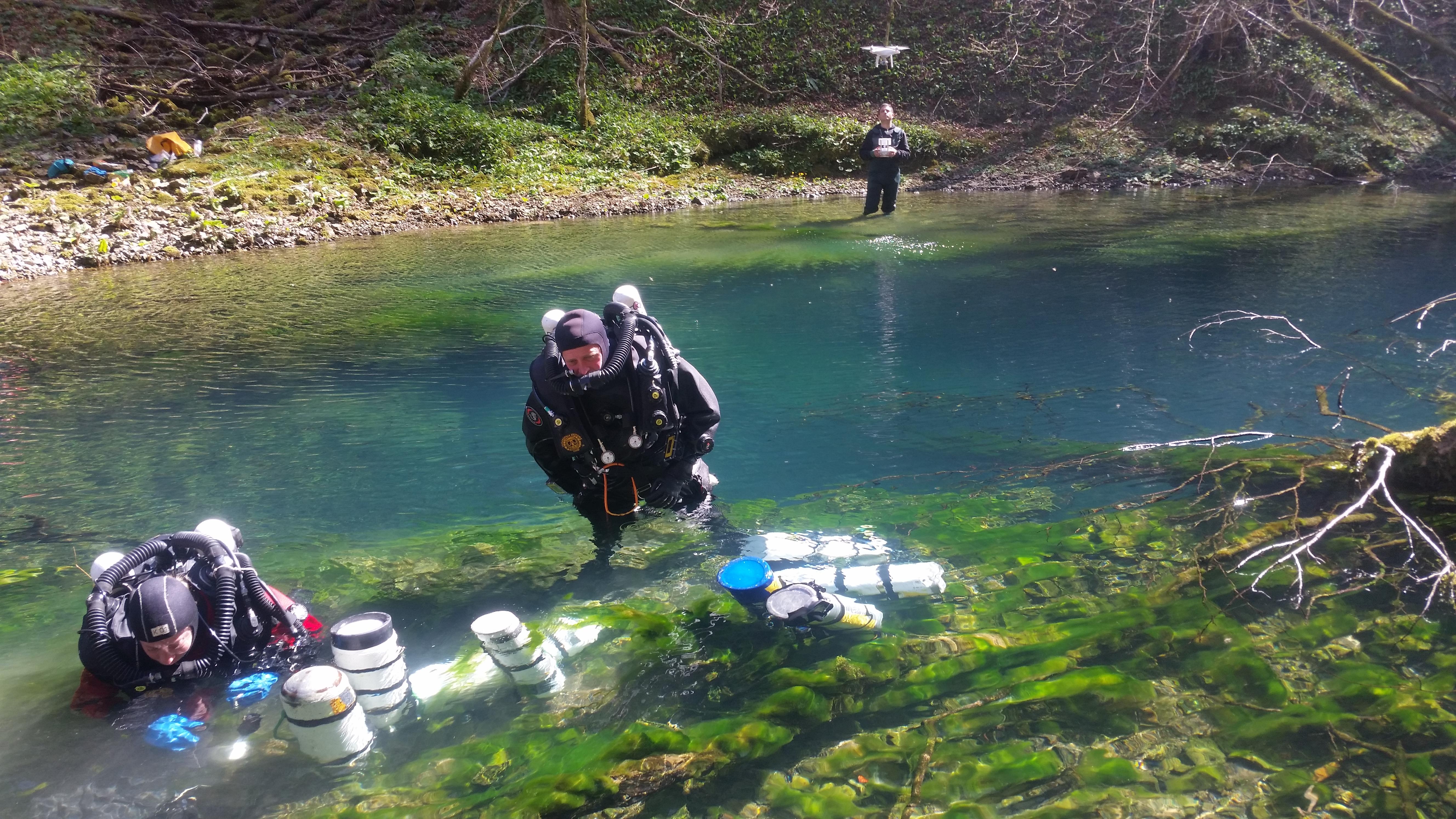 Izvješće o preliminarnom  speleoronilačkom  i biospeleološkom  istraživanju izvora Kamačnika