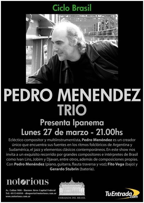 Pedro Menendez Trio -
