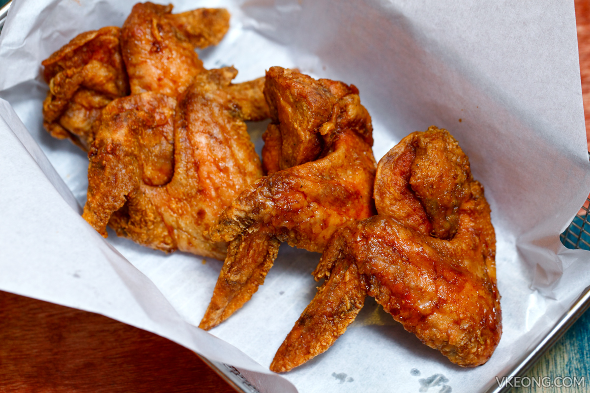 Chicken Up Fried Chicken Wings Soy Sauce
