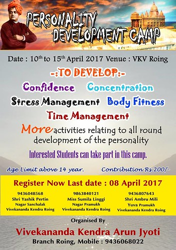 Personality Development Camp Roing