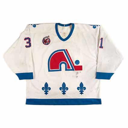 Quebec Nordiques 1992-93 F jersey