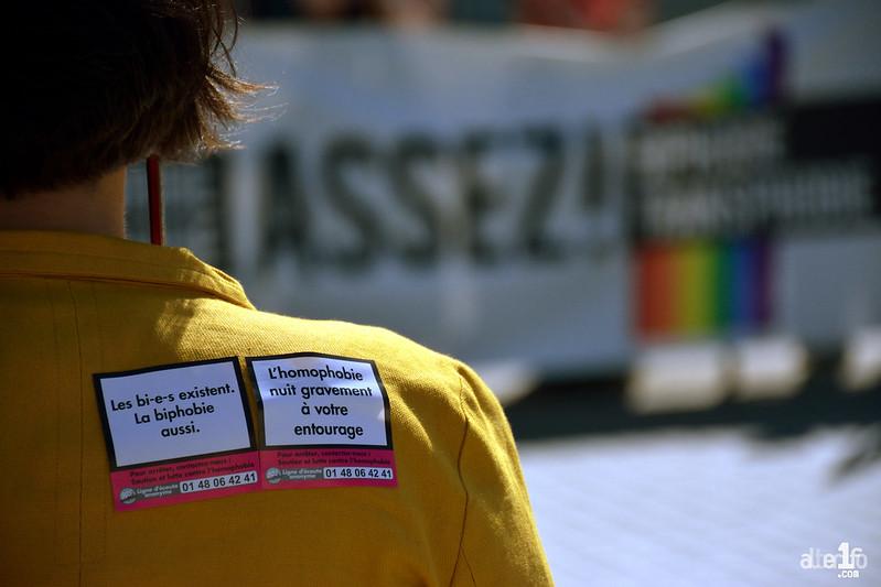 [08 Avril 2017] – Un jour, une photo… Un rassemblement pour soutenir les droits des personnes LGBTI