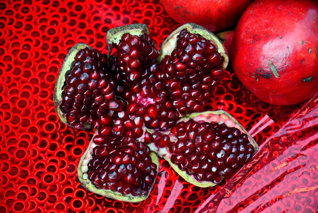 India Maharashtra Mumbai Pomegranate The Pomegranate Flickr