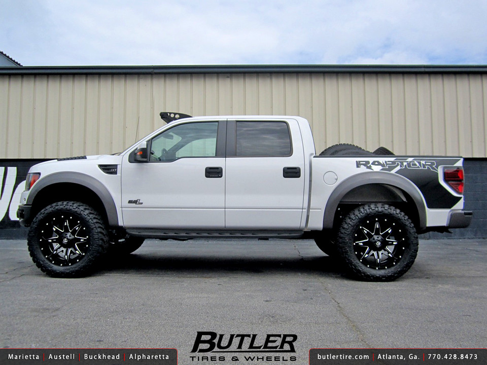 Ford Raptor With 22in Fuel Lethal Wheels Additional Pictur Flickr