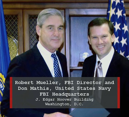 FBI Director Robert Mueller & CDR Don Mathis Kinetic Social Navy | by cdr.donmathis1