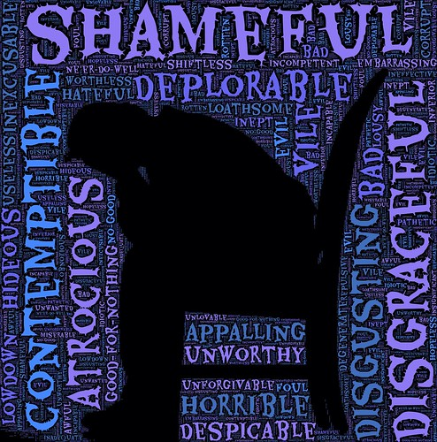 Burdened by shame | by built4love.hain