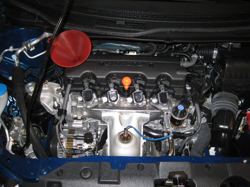 2013 honda civic oil