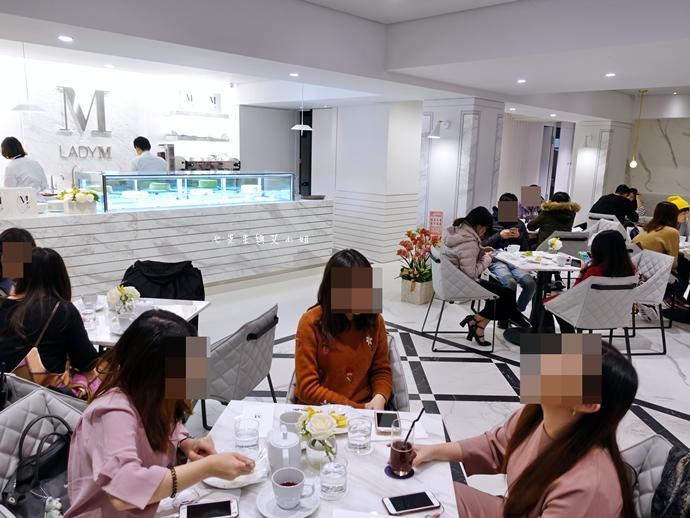 6 Lady M 台灣旗艦店-果然一開店就排到天荒地老!(含完整菜單及排隊方式分享)