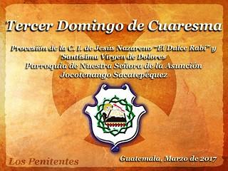 Tercer Domingo de Cuaresma, Jocotenango
