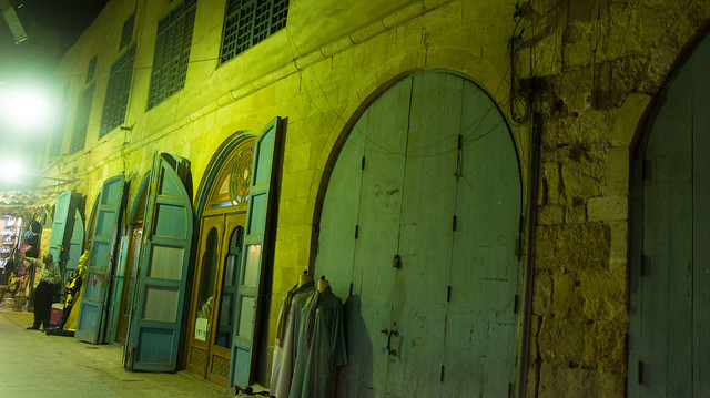 A closed shop in Khan El-Khalili