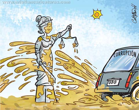 Caricatura fango