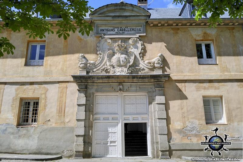 Caballerizas Reales. Palacio Real de la Granja de San Ildefonso. Segovia, Castilla y León. España.