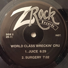 WORLD CLASS WRECKIN' CRU:JUICE(LABEL SIDE-B)