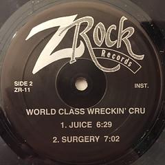 WORLD CLASS WRECKIN' CRU:JUICE(LABEL SIDE-B)