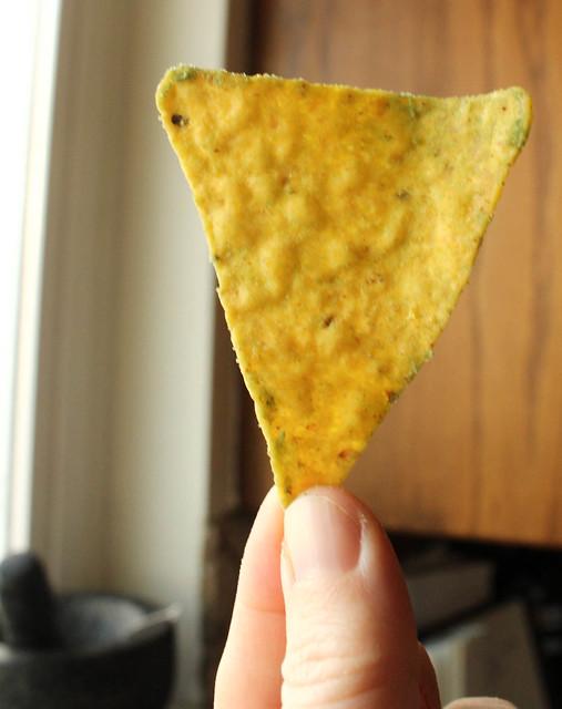 Product Review of Doritos Guacamole Tortilla Chips