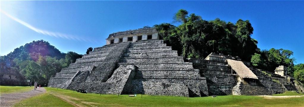P3170410 Pano Palenque Chiapas Mexico Patrimonio de la Humanidad UNESCO