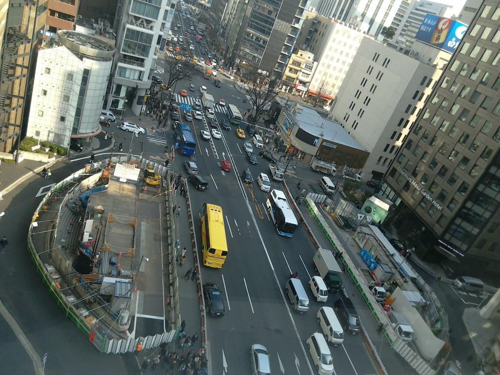 三原橋地下街解体中 (1)
