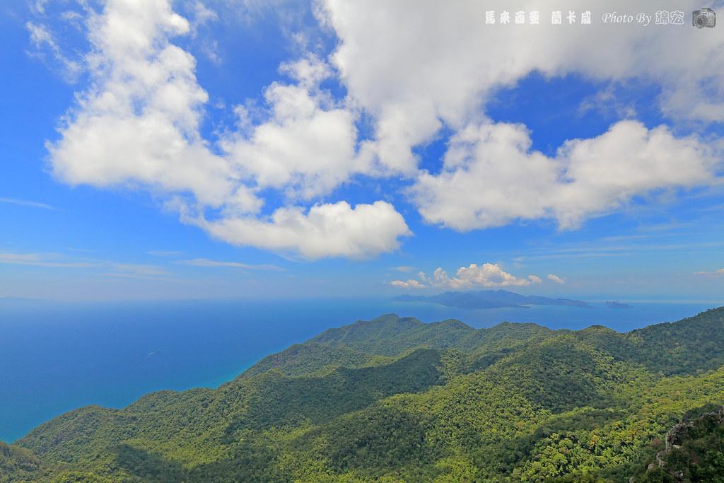 馬來西亞 蘭卡威 觀景台景色