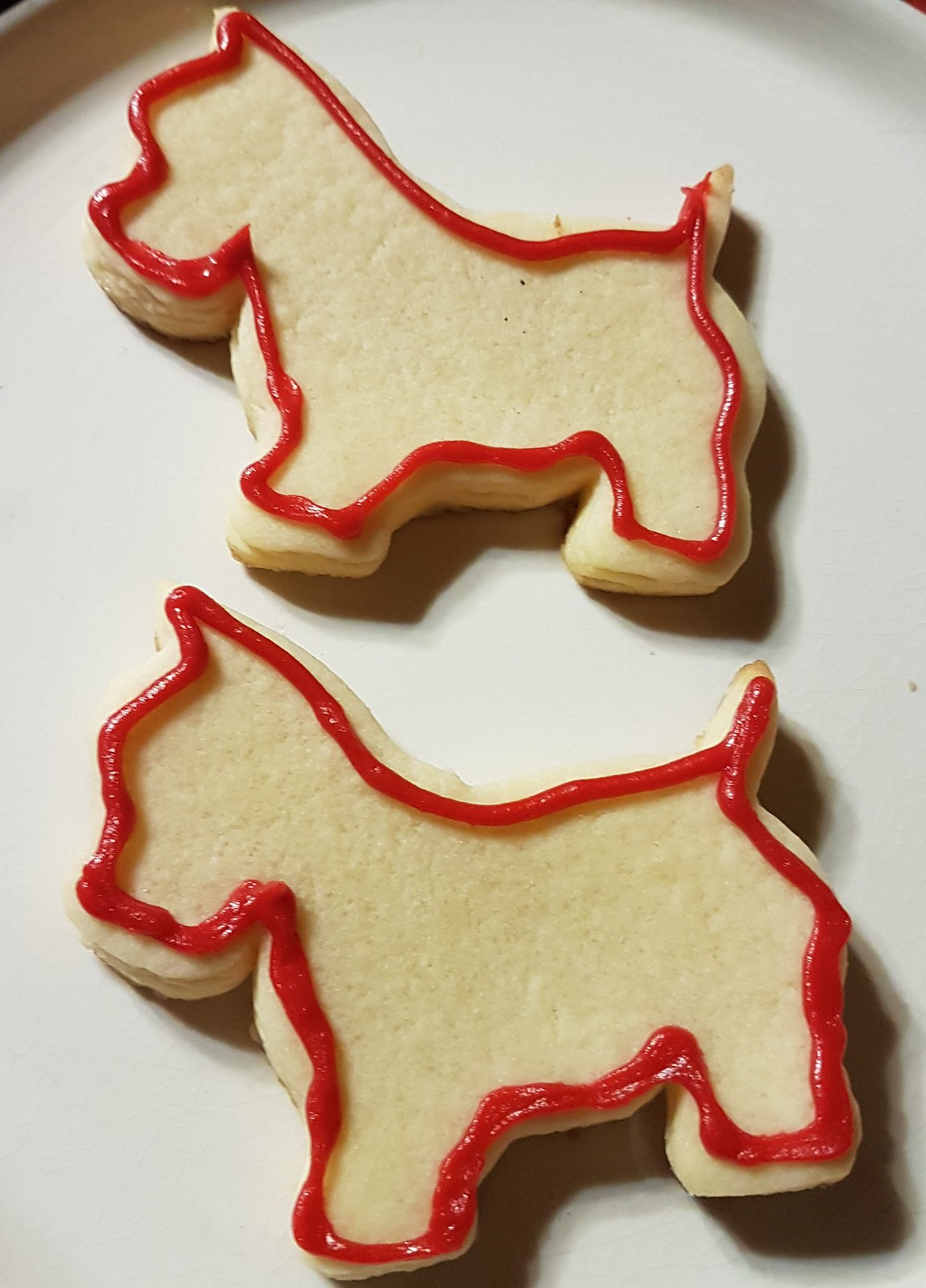 westie sugar cookies