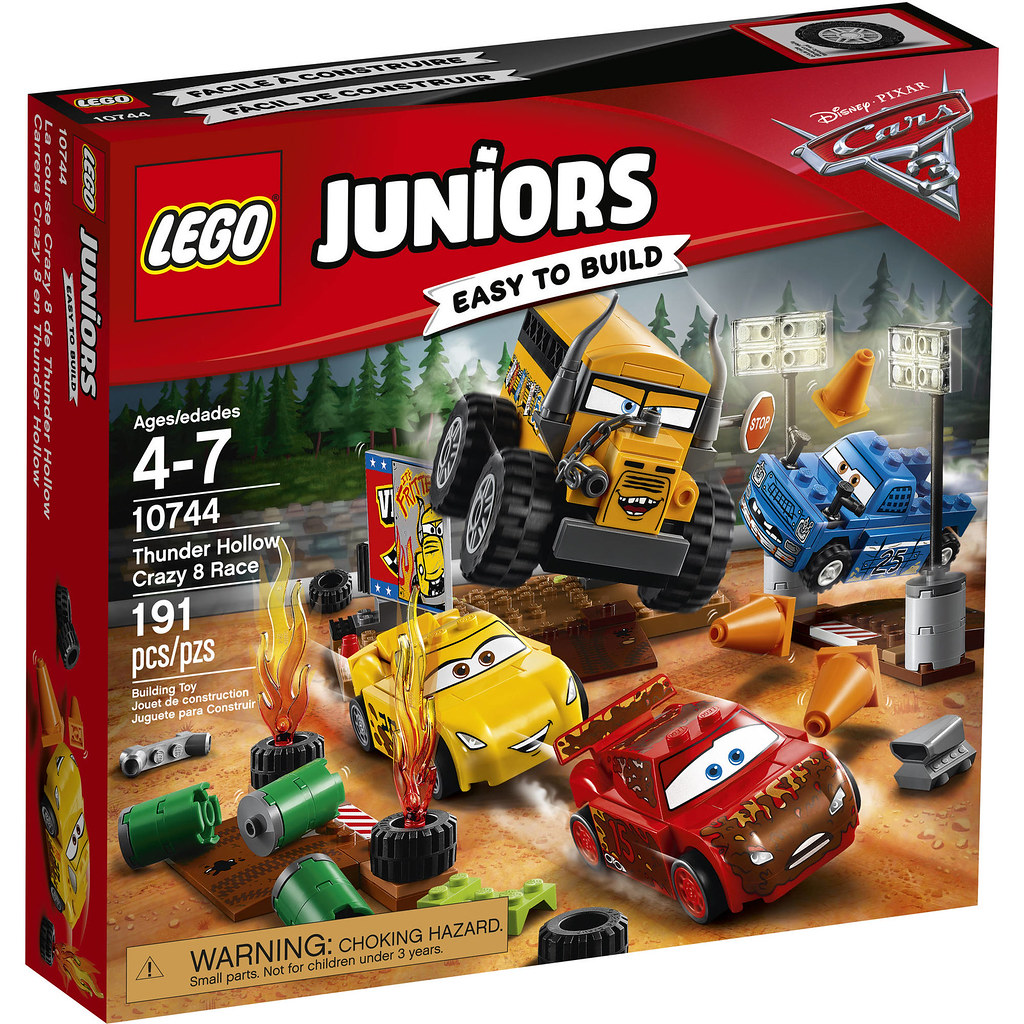 LEGO Juniors Cars 3 10744 - Thunder Hollow Crazy 8 Race