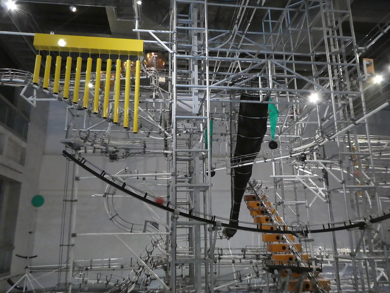 Giant Marble Run, Hong Kong Science Museum
