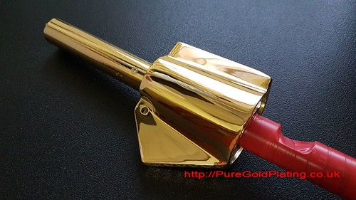 Scooter Grip in Gold | by PureGoldPlating