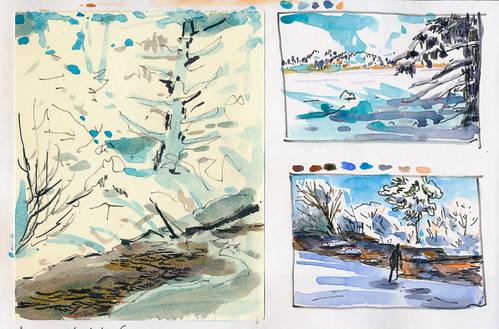 Sketchbook #102: Trip Around Christmas Time