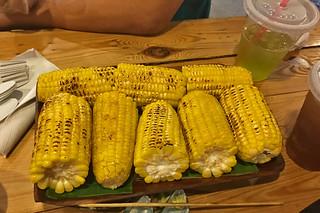 Backyard - Corn on cob