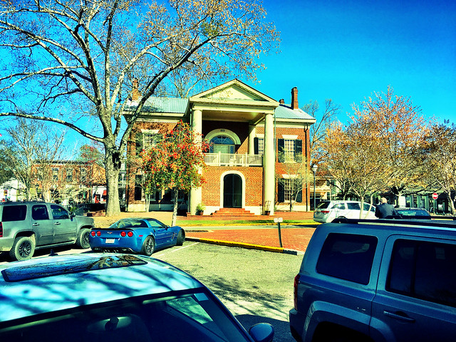 The Old Lumpkin County Courthouse