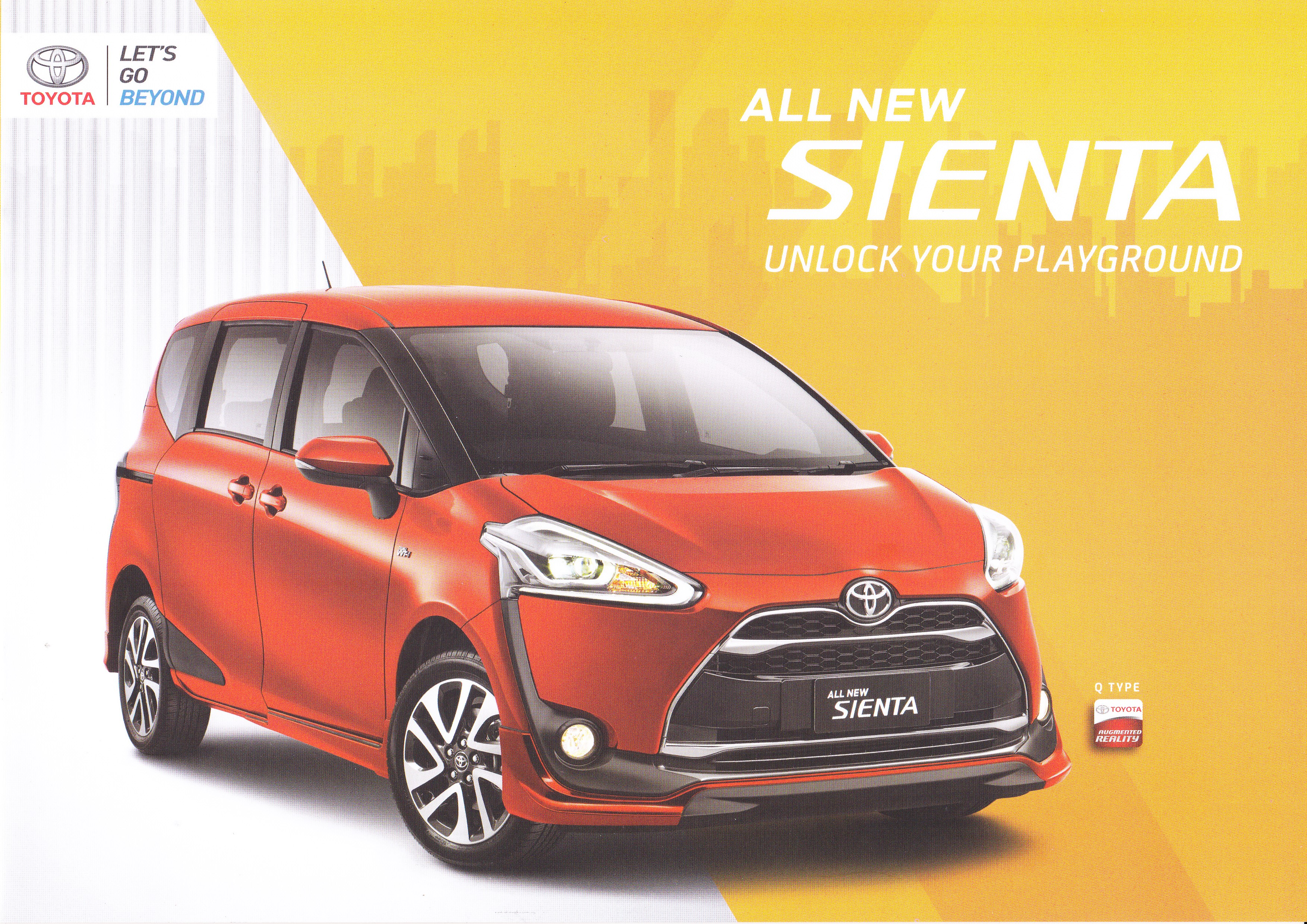 Brosur Mobil Toyota Sienta Jakarta