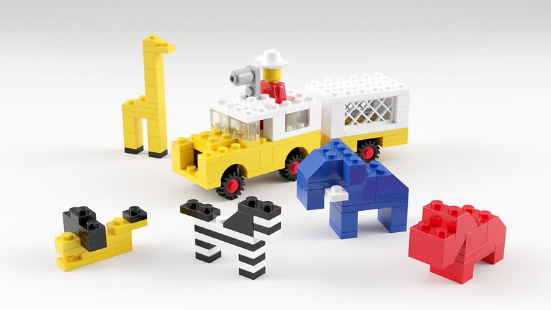 What do ugly april showers bring? Why, pretty lego renders!